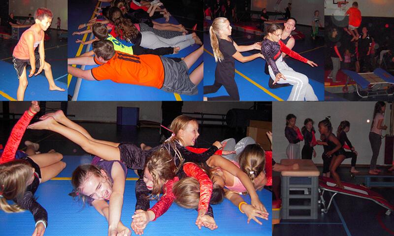 Sfeer impressie Het Grote Gymfeest Springdisco 2014